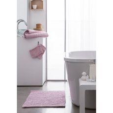 TODAY Tapis de bain uni en polyester 1500G/M²  BUBBLE (Rose)