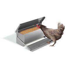 Jardikt Mangeoire pour poules automatique 10kg