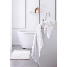 TODAY Tapis de bain uni en polyester 1500G/M²  BUBBLE (Blanc)