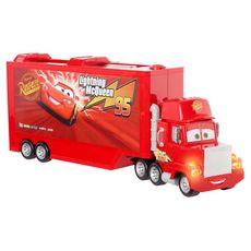 MATTEL Cars Disney Pixar - Mack Le transporteur de véhicules sonore