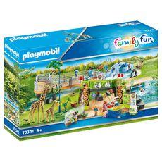 PLAYMOBIL 70341 - Family Fun - Parc animalier