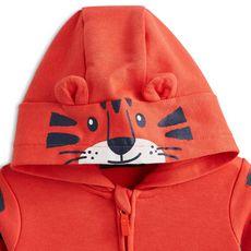 IN EXTENSO Sweat zippé à capuche tigre bébé garçon (Orange)
