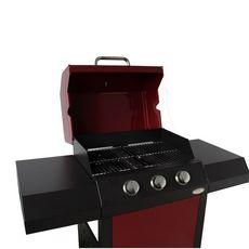 Barbecue gaz CAZORLA bordeaux