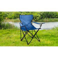 Garden Fauteuil de jardin de camping bleu