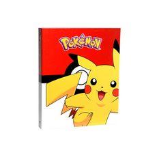Classeur rigide A4 dos 40mm Pokémon rouge Pikachu