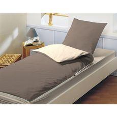 BLEUCALIN Ensemble de couchage prêt à dormir avec couette Caradou