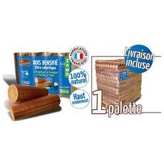 WOODSTOCK 1 Palette de bois densifié - 104 packs de 5 bûches