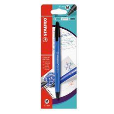 Stylo gel thermosensible pointe moyenne encre bleue