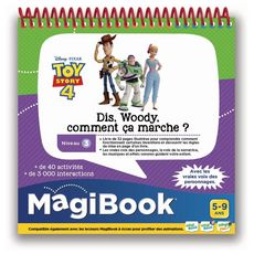 VTECH MagiBook - Toy Story 4 - Dis, Woody, comment ça marche ?