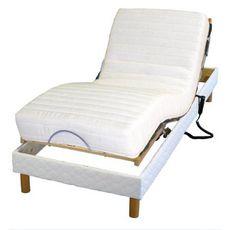 Lit relaxation électrqiue TPR ADAGIO - Lit 90 x 190 cm