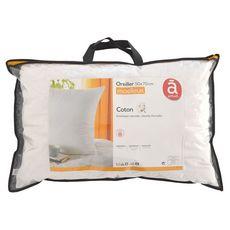 ACTUEL Oreiller confort moelleux en coton 57 fils