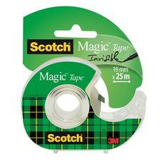Dévidoir avec ruban adhésif Magic 25mx19mm