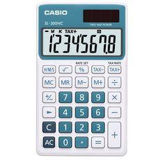 CASIO Calculatrice de poche - bleue