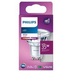 PHILIPS Ampoule led GU10 spot 35W white 370 lumen x1 1 pièce