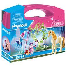 PLAYMOBIL 70529 - Fairies - Valisette Fées et licorne