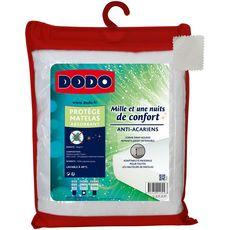 DODO Protège matelas absorbant en polycoton anti-acariens MILLE ET UNE NUITS DE CONFORT