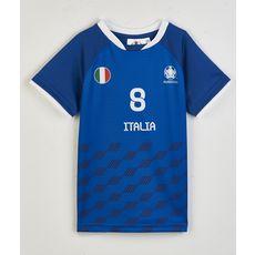 UEFA Maillot de foot Italie enfant (Bleu)