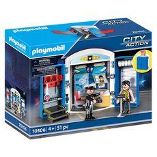 PLAYMOBIL 70306 - City Action - Coffre Commissariat de police