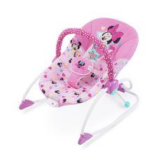DISNEY Transat bébé évolutif vibrant Stars & Smiles Minnie
