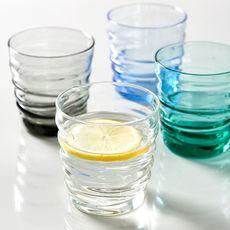 BORMIOLI ROCCO Set de 6 verres à eau RIFLESSI ACQUA Light Onyx (Transparent)