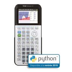 TEXAS  Calculatrice graphique TI-83 Premium CE