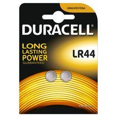DURACELL Lot de 2 Piles Bouton Alcaline type LR44 - 1.5V