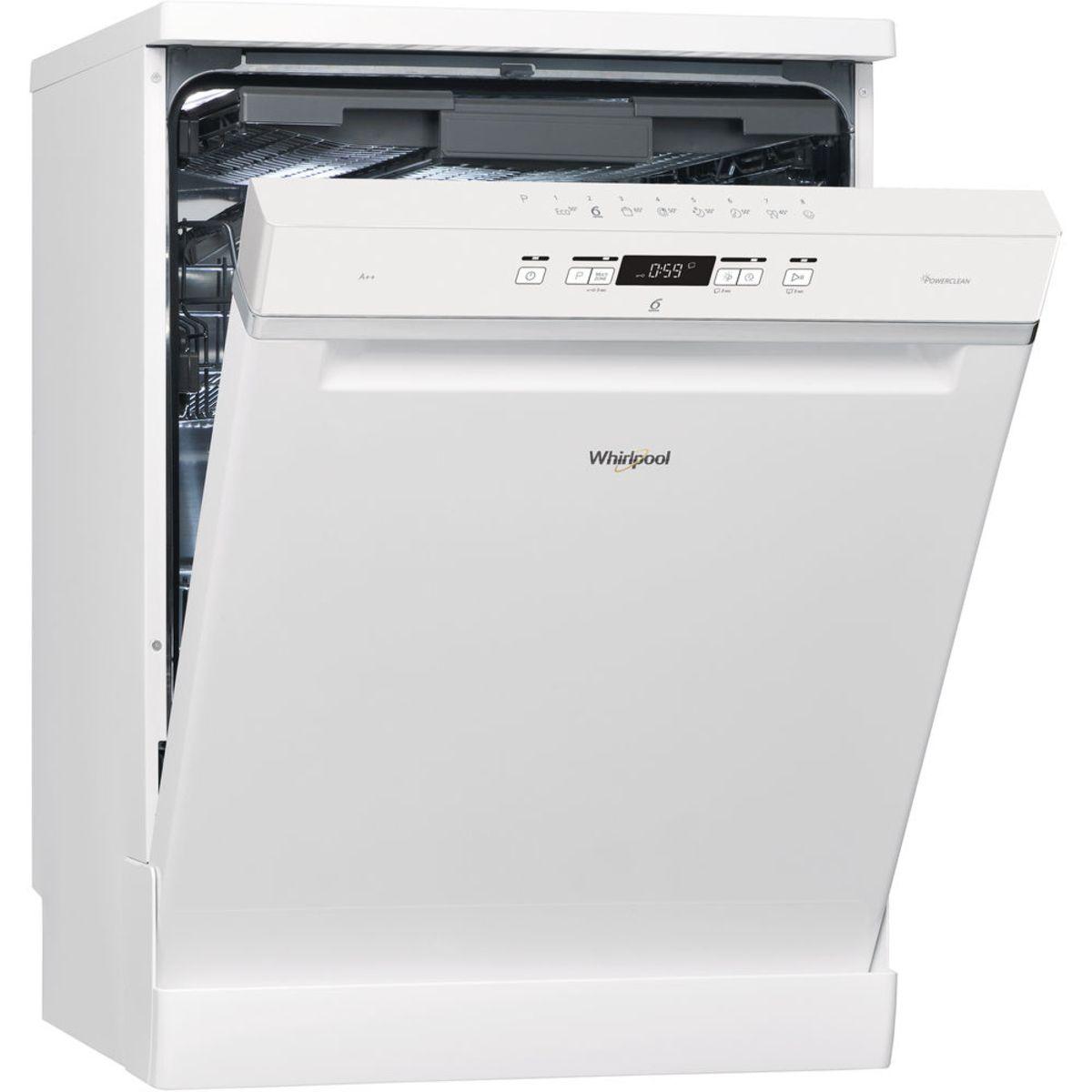 Lave-vaisselle Pose libre WFC3C24PF - 14 couverts - 60 cm - 44 dB - 8 programmes