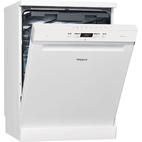 WHIRLPOOL Lave-vaisselle Pose libre WFC3C24PF - 14 couverts - 60 cm - 44 dB - 8 programmes