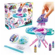 CANAL TOYS Kit Slime Tie Dye avec Table et fer à repasser