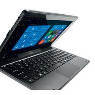 QILIVE Tablette tactile avec clavier 10.1 W10 866311 Noire 32Go
