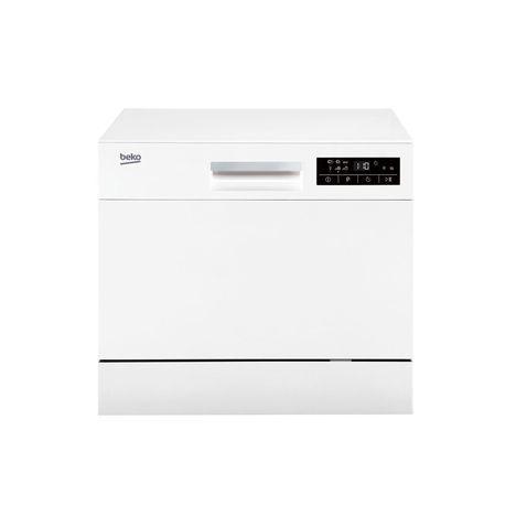 BEKO Lave-vaisselle compact DTC36610W,  6 couverts, 55 cm, 49 dB, 6 Programmes