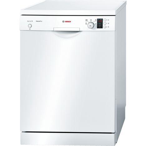 BOSCH Lave-vaisselle pose libre SMS25GW02E - 12 couverts - 60 cm - 46 dB - 5 programmes