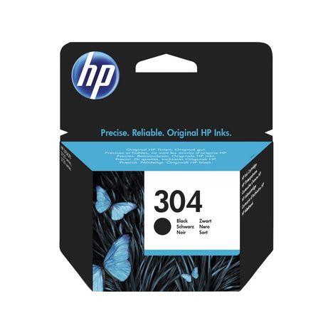 HP Cartouche d'encre N 304 noir