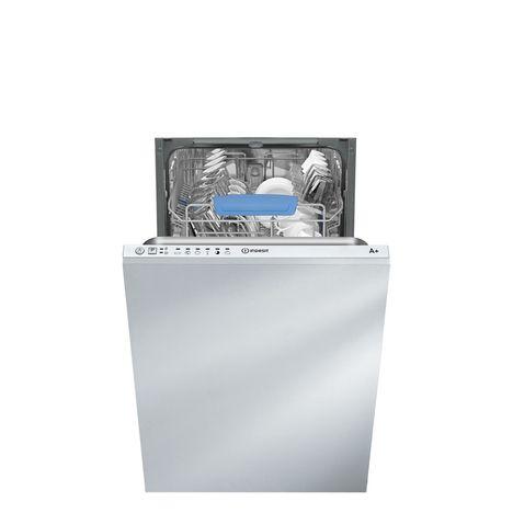INDESIT Lave-vaisselle Encastrable DISR 16M19 A EU - 10 couverts - 45 cm - 49 dB - 6 programmes