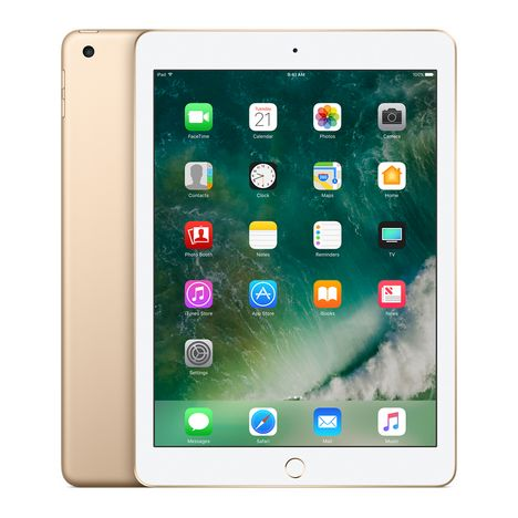 APPLE Tablette tactile iPad WiFi Or 32 Go