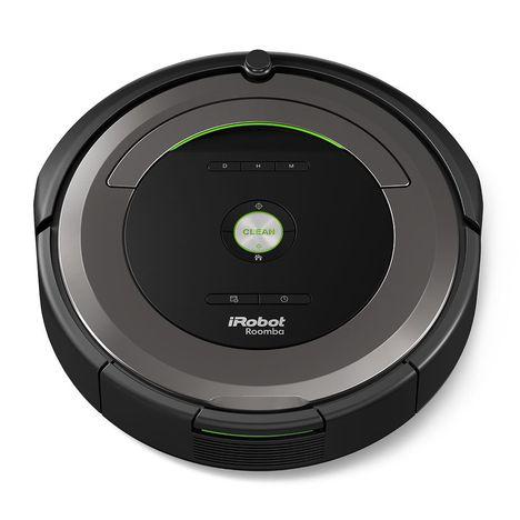 aspirateur robot roomba 681 irobot pas cher prix auchan. Black Bedroom Furniture Sets. Home Design Ideas