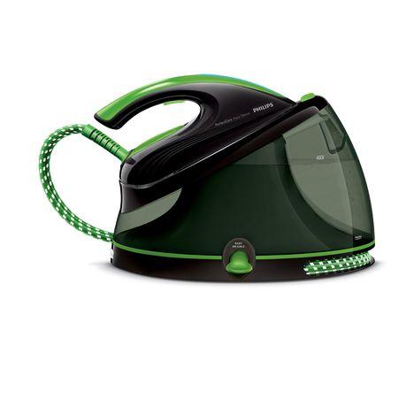 centrale vapeur gc8652 80 noir et vert philips pas cher. Black Bedroom Furniture Sets. Home Design Ideas