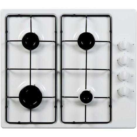 SELECLINE Table de cuisson à gaz 400046, 58 cm, 4 Foyers