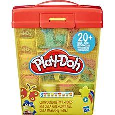 PLAY-DOH Super Boite à accessoires et 8 pots de pâte à modeler