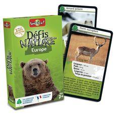 BIOVIVA Défis Nature Europe 36 cartes collector 1 jeu
