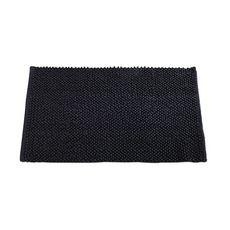 TODAY Tapis de bain uni en polyester 1500G/M²  BUBBLE (Noir )