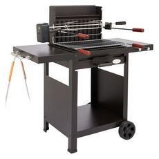 GARDENSTAR Barbecue au charbon de bois VERTICAL