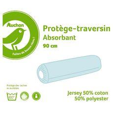 POUCE Protège traversin absorbant en polycoton PUNTO
