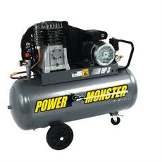 MECAFER Compresseur Power Monster 100L - 3CV - 10bars