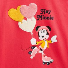 MINNIE T-shirt manches longues fille (Rouge )