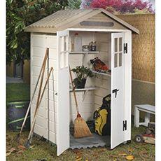 Abri de jardin en résine 1,97 m² - EVO120 avec plancher autoportant
