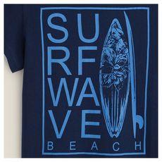 IN EXTENSO T-shirt manches courtes surf garçon (MARINE)