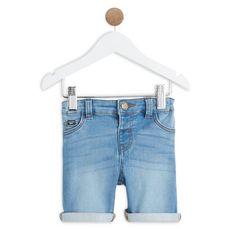 IN EXTENSO Bermuda en jean bébé garçon    (Stone )