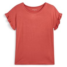 IN EXTENSO T-shirt manches courtes rose femme (Rose)