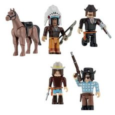 Roblox - Pack de  6 figurines The Wild West S.9